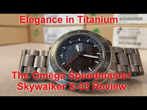 Omega Speedmaster Skywalker Review