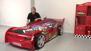 Autobed Night Racer rood - productbeschrijving