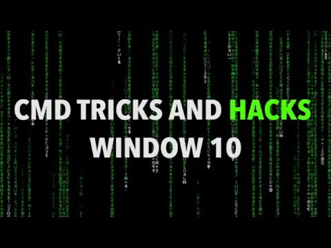 Amazing Command Prompt (CMD) Tricks And Hacks For Window 10