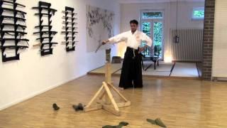 Tameshigiri - Rokudan Giri, 6 cuts - Mugai Ryu Iaido