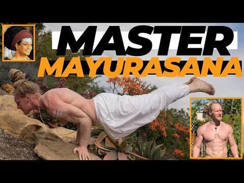 YOGA ARM BALANCE    How to Do Peacock Pose (Mayurasana) For Beginners