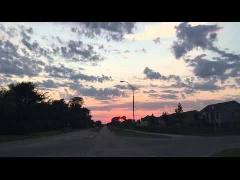 Thinking Out Loud And Driving Into The Sunset