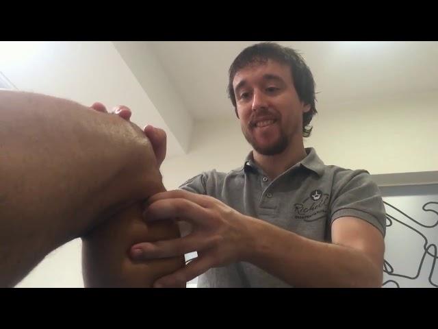 Tratamiento tibial anterior en Richelli´s Osteopatía