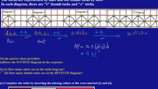 CSEC CXC Maths Past Paper Question 8b(i)&(ii) May 2011 Exam Solutions (Answers)_by Will EduTech