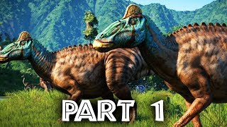 Jurassic World Evolution Gameplay Walkthrough Part 1 (Full Game)