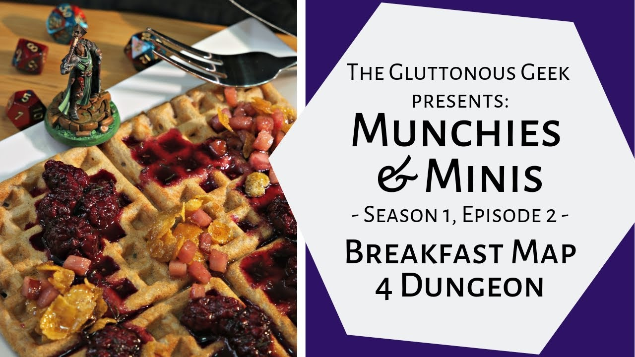 Munchies & Minis | S1E2: Breakfast Dungeon Map | The