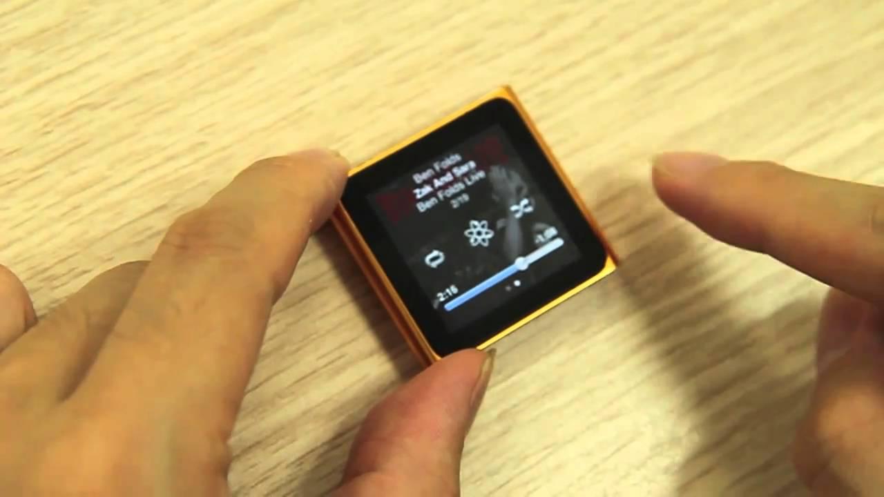 Ascii Jp 新ipod Nanoレビュー これは退化じゃない 進化だ 2 4