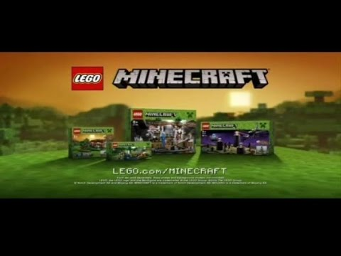Toy Commercial 2015 - LEGO Minecraft Micro World - Get Your Diamond Armour - Brand New Awesome Sets