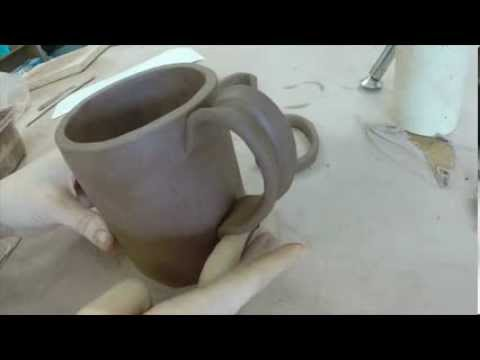 Ceramics 101 Handles 3 Ways Youtube