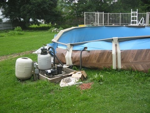 Winter Weather and Other Causes of Swimming Pool Failure