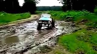 0.33  Москвич на больших колесах - вездеход