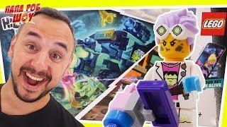 LEGO HIDDEN SIDE: ПАПА РОБ собирает АВТОБУС ОХОТНИКОВ за ПРИЗРАКАМИ!