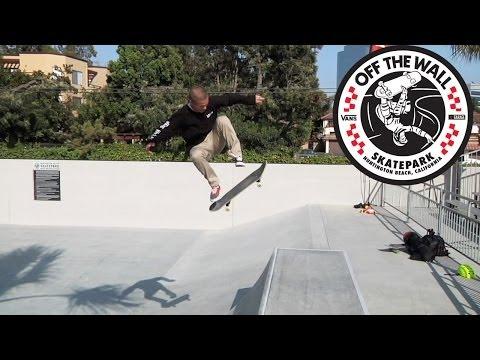 Huntington Beach, CA skatepark opening