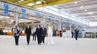 Senior Advisor Ivanka Trump Visits GM Tech Center in Warren, Michigan