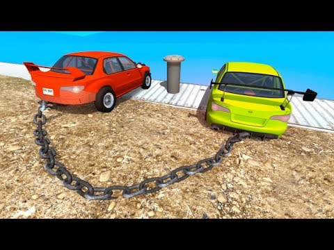 High Speed Jump Crashes BeamNG Drive Compilation #4 (BeamNG Drive Crashes)