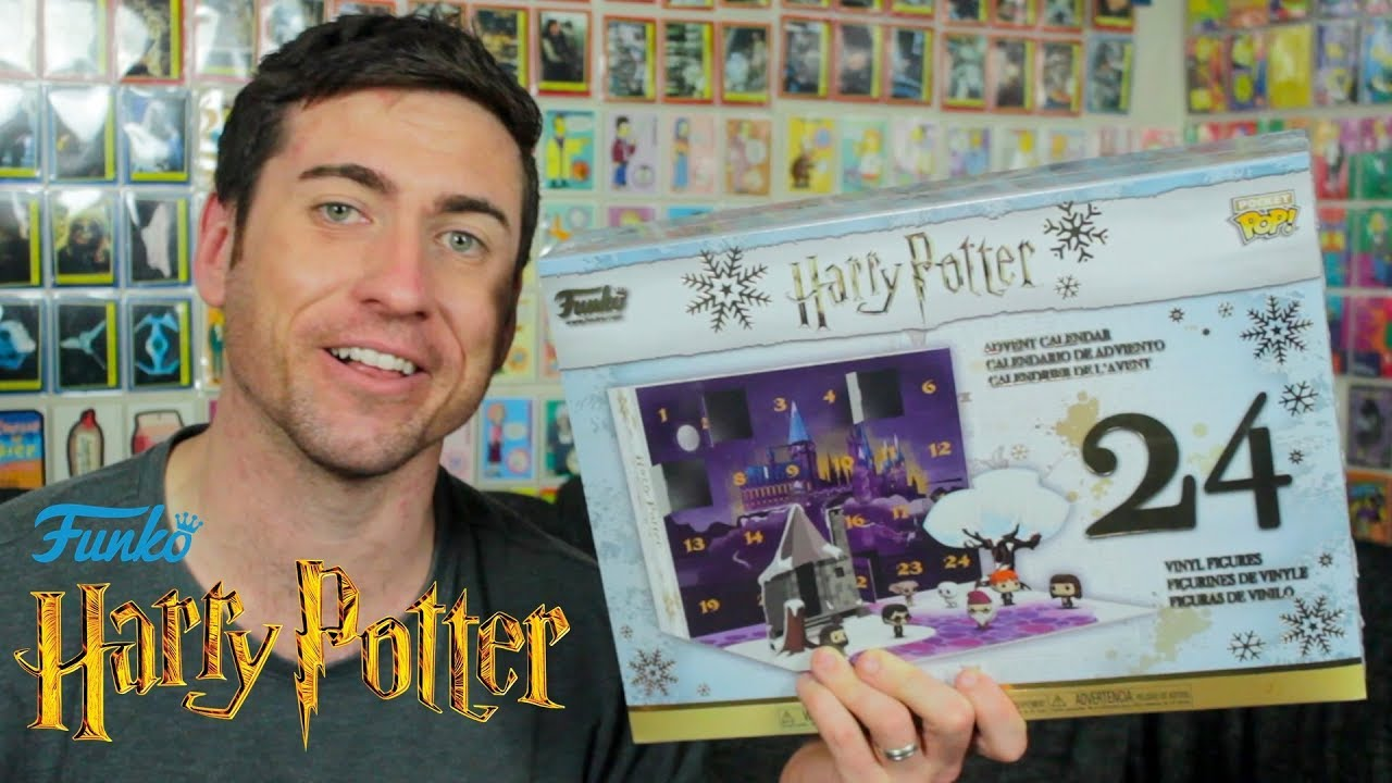 Harry Potter Advent Calendar.Harry Potter Funko Pocket Pop Advent Calendar Unboxing Nerd Daddy