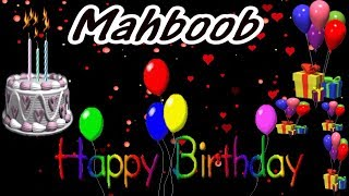 Mahboob Happy Birthday Song New Video 2019 - Mahboob Happy Birthday Song