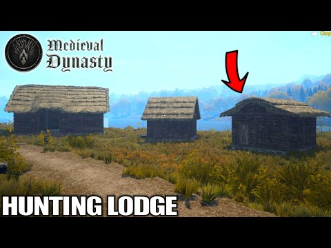 The Town Grows Bigger Building The Hunting Lodge | Medieval Dynasty Gameplay | E03