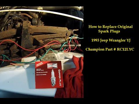 replace spark plugs 1993 jeep wrangler yj sputtering stalling on 1998 Jeep Wrangler Wiring 2004 Jeep Wrangler Parts Diagram for replace spark plugs 1993 jeep wrangler yj sputtering stalling backfiring no check engine light code