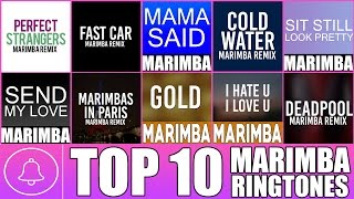 Top 10 Marimba Remix Ringtones of the month - August 2016 (Download Links in Description)