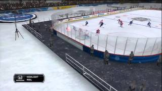 NHL 12 - Period 1 Ends Gameplay (PS3, Xbox 360)