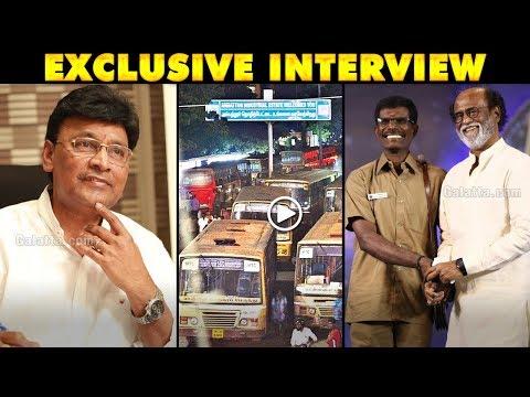 Rajinikanth Could Have Spoken About TN Bus Strike - Bhagyaraj Hot Statement