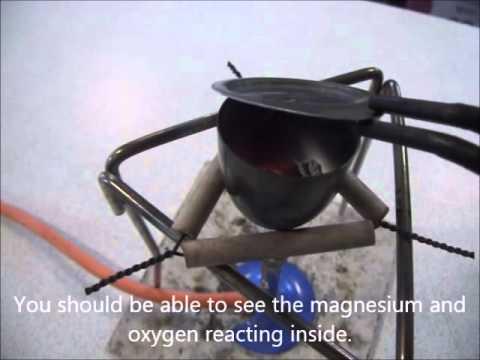Making Magnesium Oxide - YouTube