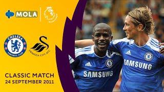 Premier League   Classic Match, Chelsea vs Swansea   24 Sep 2011
