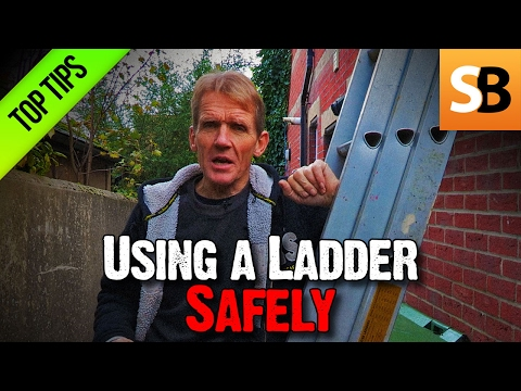 Save Your Life by Using Your Ladder Safely