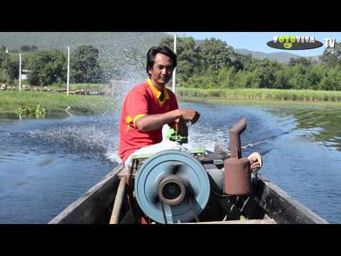 Burma - Longtail Boat @ Inle Lake