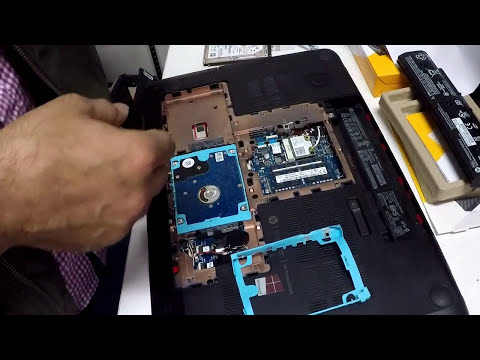 HP Envy 17 Notebook Hard Drive Replacement