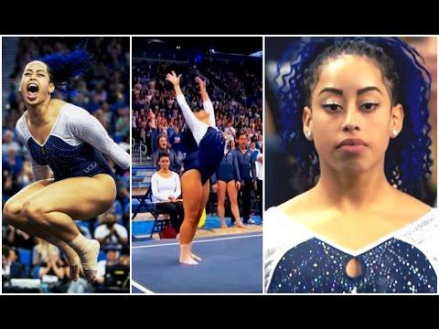 Sophina DeJesus Hip Hop Gymnastics Floor routine at UCLA 2016