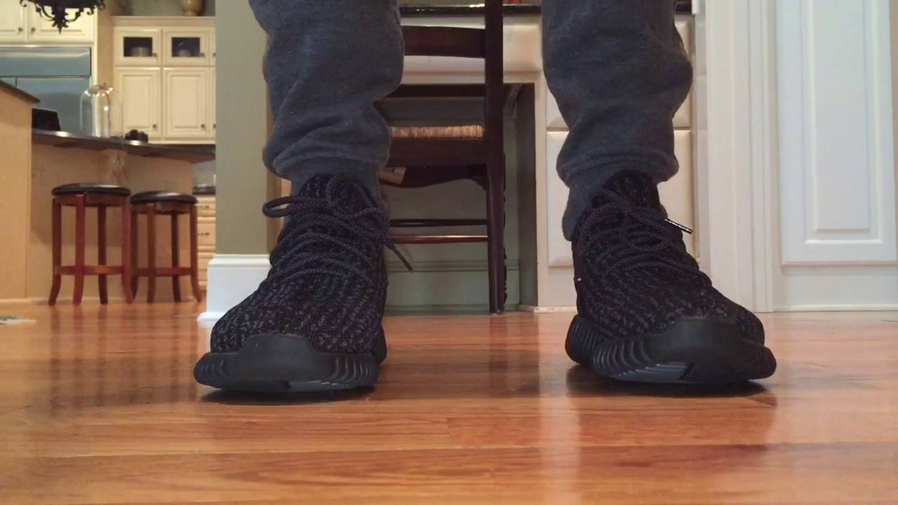 3ab0e9556ee13 ALIEXPRESS YEEZY BOOST 350 PIRATE BLACK REVIEW - YouTube