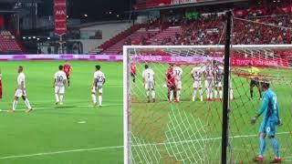タイサッカーリーグ:SCGスタジアムゴール裏(アウェイ)からの景色