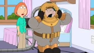 Грифини прикол Питер в скафандре