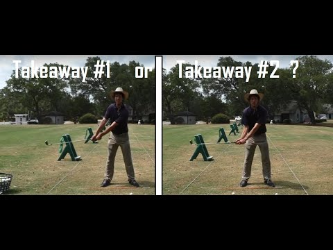 Golf Swing Takeaway – Which Method is Best? | E-Tip #41 | Tom Saguto, PGA | SagutoGolf