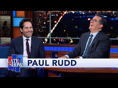 """Paul Rudd Ate A Lot Of Salmon To Get His Abs In Shape For """"Ant-Man"""""""