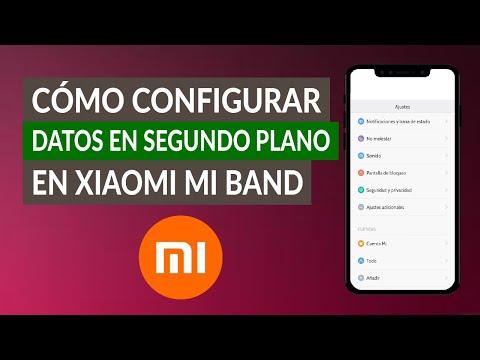 Cómo Configurar Datos en Segundo Plano en Xiaomi Mi Band - Paso a Paso
