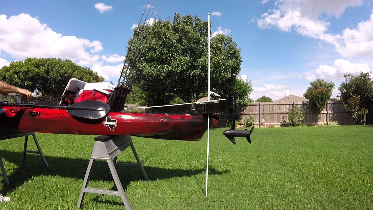 my homemade DIY shallow water anchor pole,