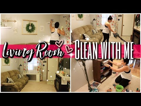 SUMMER ☀️CLEAN WITH ME! || CLEANING MY LIVING ROOM || CLEANING MOTIVATION