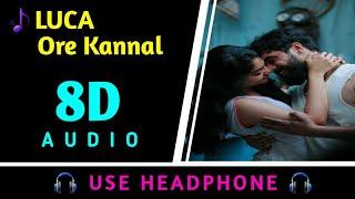 LUCA Ore Kannal 8D Song Tovino Thomas Ahaana Krishna 8D Virtual Audio 8D BEATS