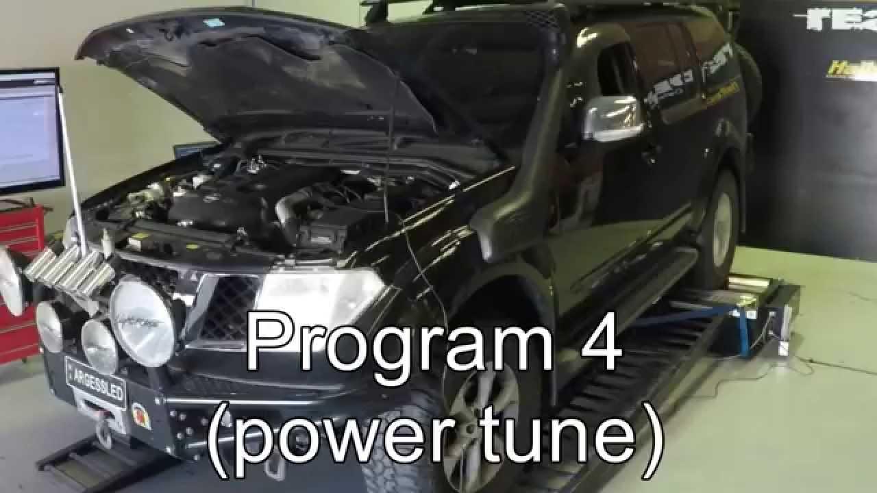 Nissan Pathfinder Yd25 R51 Dyno Results