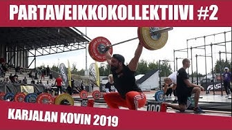 Mitä kilpaa jumppaaminen vaatii? Partaveikkokollektiivi Karjalan Kovin 2019 -kisassa