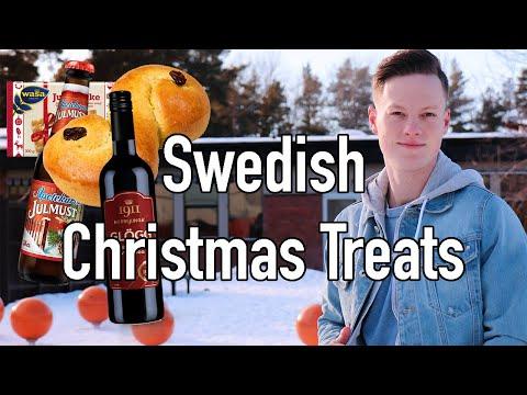 Trying Swedish Christmas Treats