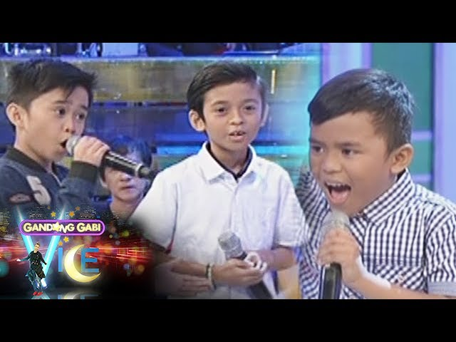 "GGV: Mackie, Francis, and Kiefer sing ""Listen"""
