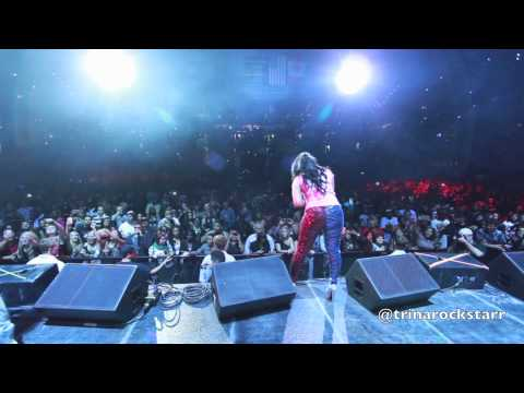 Trina Performing Live In Tampa