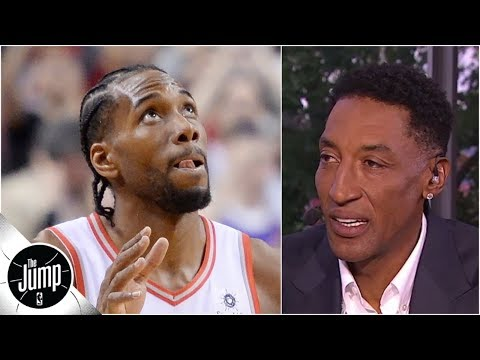 Kawhi Leonard's defensive highlights left Scottie Pippen 'amazed' | The Jump