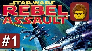 Star Wars: Rebel Assault - #1 - Tatooine und darüber - Gameplay - Deutsch / German - PC