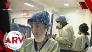 Más de 70 mil voluntarios se dirigen a Nueva York para combatir el COVID-19 | Telemundo
