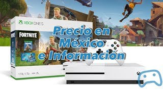 Nouvelle Xbox One S Fortnite Edition - Exclusive Skin - Prix et Informations Notes